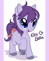 Ellie Bellie - My First Pony by IamKitteh
