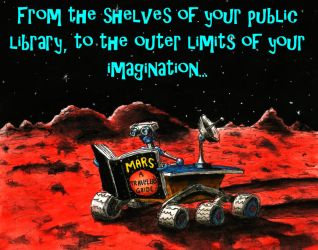 Reading on the Red Planet by Keith-McGuckin