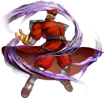 Street Fighter 5 M.Bison by hes6789
