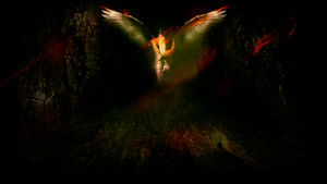 Fallen Angel - Wallapaper by Bijou44