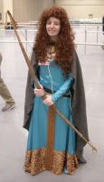 Princess Merida Comic-Con 2012 by sleepyotter