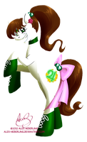 Sailor Jupiter Pony by alex-heberling