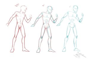 Figure Practice by Yaoi-Master-Forever
