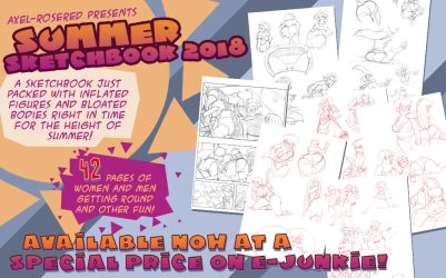 Summer Sketch Book 2018 by Axel-Rosered