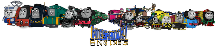 International Engines by Dan-the-Countdowner