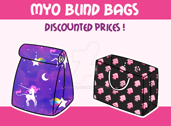 [OPEN] MYO BLIND BAGS by Fireflys-Adopts