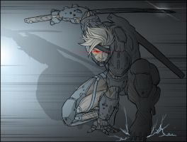 Raiden MGRR by AIBryce