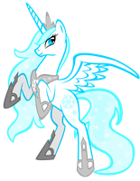 MLP OC: Princess Shimmerflake by auveiss