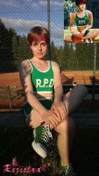 Rebecca Chambers Photo D cosplay comparison by Rejiclad