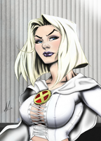 Emma Frost by Marc-F-Huizinga by Ryan-Butler