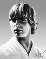 Luke Skywalker by blake-drake