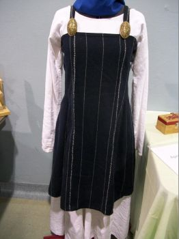 Hedeby Apron Dress by Flashgriffin