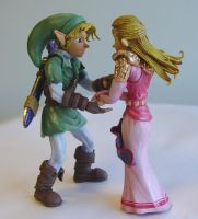 Zelda Wedding Cake Topper 1 by Scrybe