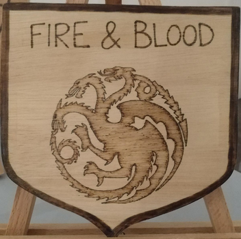 Fire and Blood by Envorenn