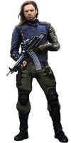Bucky - White Wolf Infinity War PNG by Gasa979