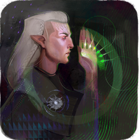 Inquisitor Lavellan by sashafranz