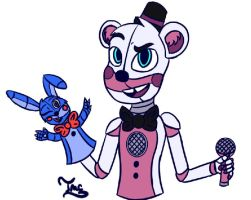 Drawpile Drawings - Funtime Freddy by TigerMCheh