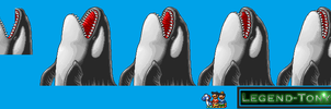 Super Mario Bros. 3-Styled Killer Whales by Legend-tony980
