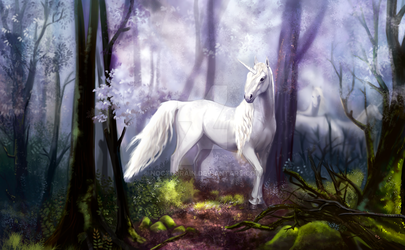 Unicorn by NocturRain