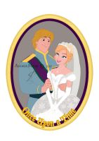 COMMISSION: Anna+Kristoff PIN by MissMikopete
