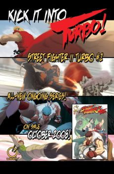 Street Fighter II Turbo Ad by UdonCrew