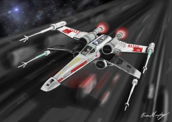X-Wing by BrianJMurphy