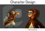 Main Character by deliatee