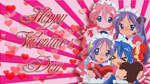 Lucky Star Valentines Day Wallpaper by Gothic-Rebecca