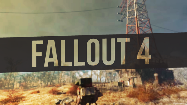 Fallout 4 Simple Wallpaper by Samuwhale