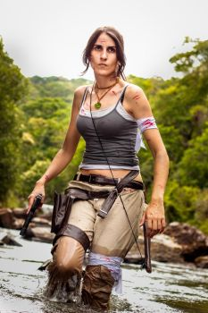 My name is Lara Croft and I'm angry as hell by RachAsakawa