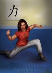 Martial Arts Student by hwango