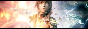 Sign28: FinalFantasy Lightning by Pstrnil