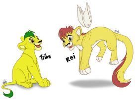 Adoptables - Rei and Tribe by LittleHybridShila