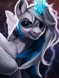 Commission 8 - FireHeartDraws (+speedpaint) by LuleMT