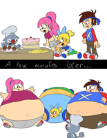 Meeting FrenchFry for the first time by JuacoProductionsArts