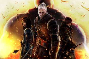 The Witcher by MattDeMino