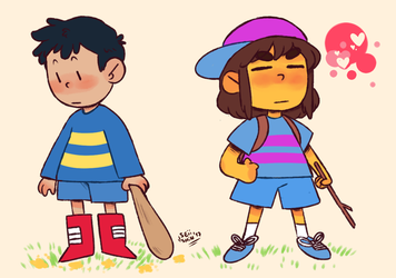 ness as a frisk and frisk as a ness by Seiishin