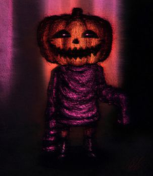 spookiest little man by Leightoons
