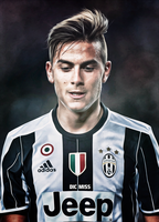 Paulo Dybala by Dicmiss