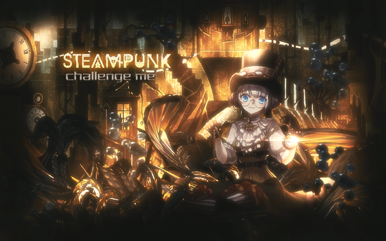 Steampunkchallenge by BlackSeraphimXIIV