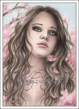 Cherry Falls ACEO by Zindy