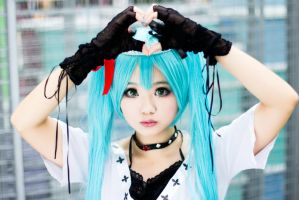 Hatsune Miku - World is mine by Sonycea