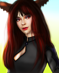 Edit study #3 (Inpired by chaosringen) by voidgrimoire