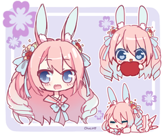 [T] Bunny Sketchpage by Chocolatte-Kun