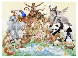 Animals by esyre