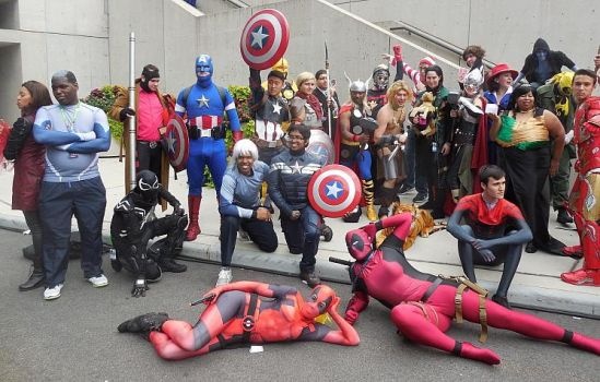 Marvel Gathering at New York Comic-Con 2015 by R-Legend