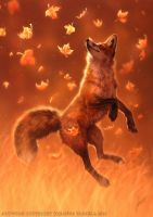 Jump Into Fall by Lhuin