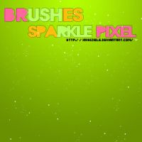 brushes sparkle pixel by invhizible
