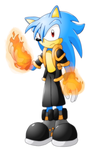 Shiron the hedgehog OC request by Pavagat