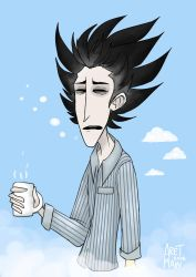 Don't Starve: Sleepy Jammies and Bed Hair by AretMaw